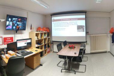 Ausbildungsdienste in Online-Schulung